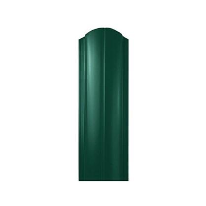 Штакетник ПРЕМ 130мм 1.8 м двухсторонний зеленый цена