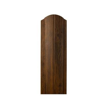Штакетник ПРЕМ 130мм 1.8 м темное дерево цена