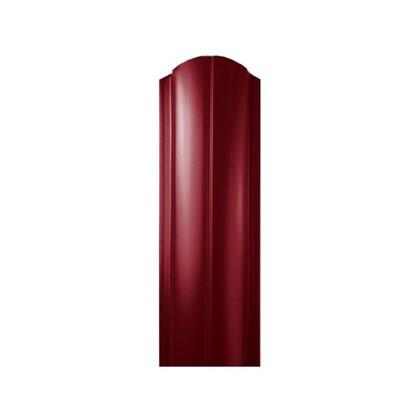 Штакетник ПРЕМ 130мм 2 м двусторонний вишневый цена