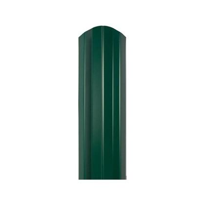 Штакетник СТ-М 100мм 1.5 м 6005 зеленый цена