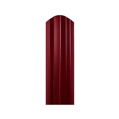 Штакетник СТ-М 100мм 1.8 м двухсторонний вишневый цена