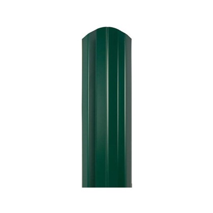 Штакетник СТ-М 100мм 1.8 м двухсторонний зеленый цена