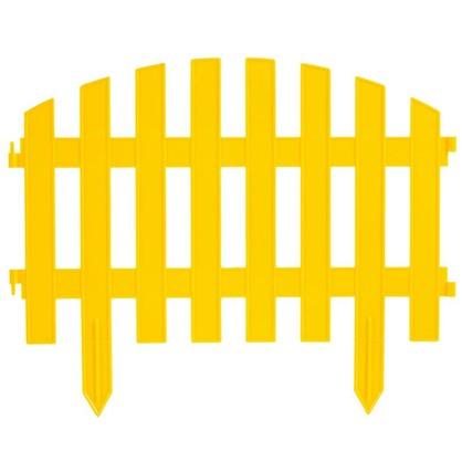 Штакетник Волна 3 м цвет жёлтый цена