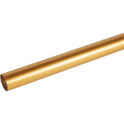 Штанга гладкая 20-160 см сталь цвет золото матовое цена