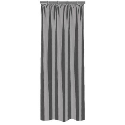 Штора на ленте 140х260 см тафта цвет серый цена