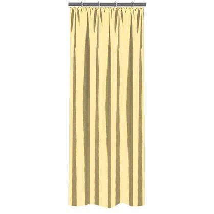 Штора на ленте 140х260 см тафта цвет золотой цена