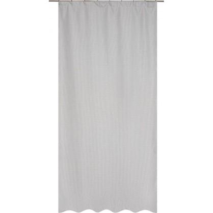 Штора на ленте Gosford 140х260 см цвет серый цена