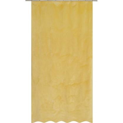 Штора на ленте Grafton 140х260 см цвет желтый цена