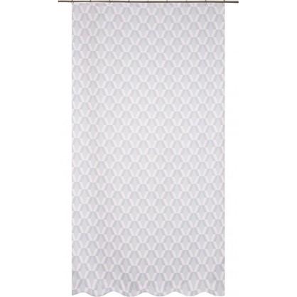 Штора на ленте Карлин Сканди 200х260 см цвет серый цена