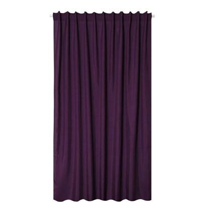 Штора на ленте Лукс 200х260 см цвет фиолетовый