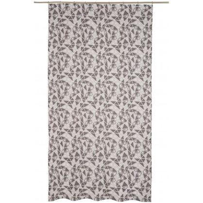 Штора на ленте Люмьер 160х260 см цвет серый цена