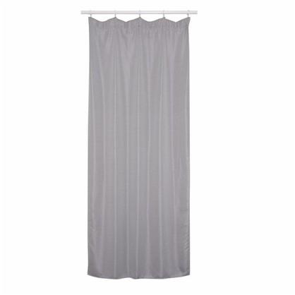 Штора на ленте Oviendo 160х260 см цвет серый цена