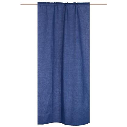 Штора на ленте Ультрамарин 145х260 см цвет синий цена