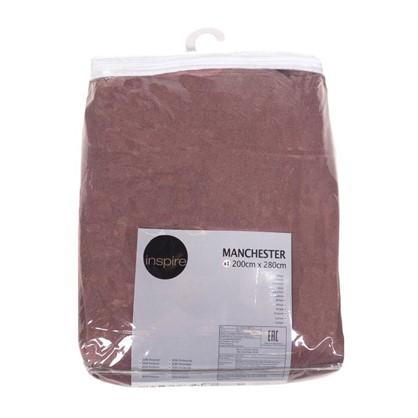 Штора Нью Манчестер 200х280 см крепление люверсы цвет розовый цена