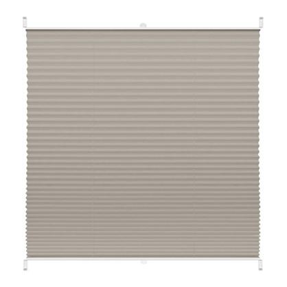 Штора плиссе Плайн 60х160 см текстиль цвет серый