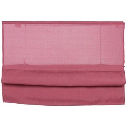 Штора римская Натур 140х160 см цвет розовый цена