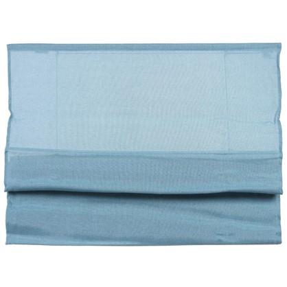 Штора римская Натур 60х160 см цвет синий цена