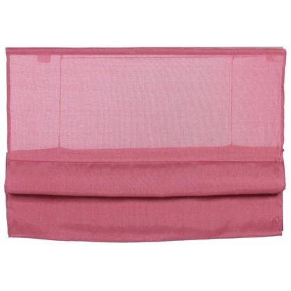 Штора римская Натур 80х160 см цвет розовый цена