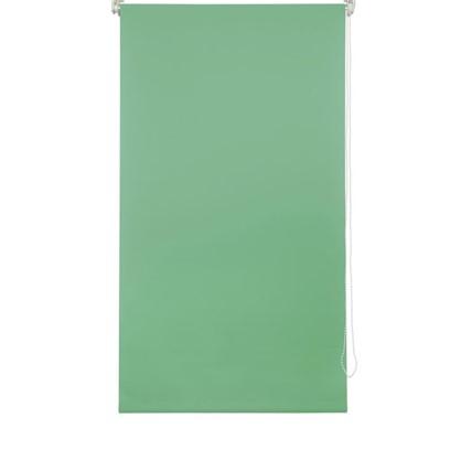 Штора рулонная 50х160 см цвет зеленый цена