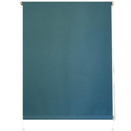 Штора рулонная Blackout Inspire 100х160 см цвет голубой цена