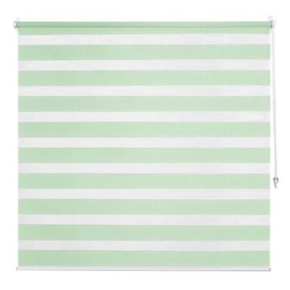 Штора рулонная день-ночь Inspire 100х160 см цвет зеленый