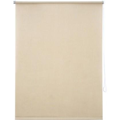 Штора рулонная Inspire Меланж 100х160 см цвет кремовый