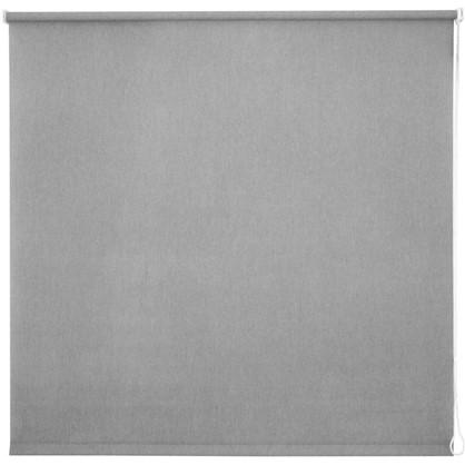 Штора рулонная Inspire Меланж 140х175 см цвет серый цена