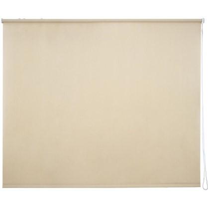 Штора рулонная Inspire Меланж 180х175 см цвет кремовый цена