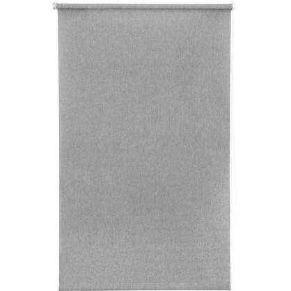 Штора рулонная Inspire Меланж 80х160 см цвет серый цена