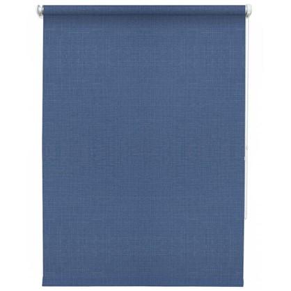 Штора рулонная Inspire Шантунг 60х160 см цвет синий