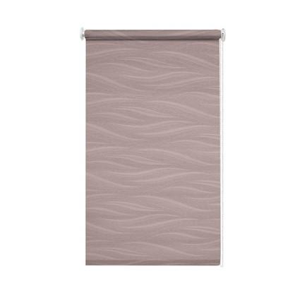 Штора рулонная Муар 140х175 см цвет розовый антик цена