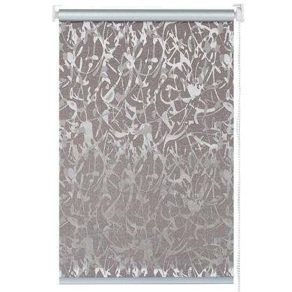 Штора рулонная Муар 40х175 см цвет коричневый цена