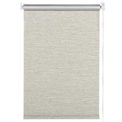Штора рулонная Штрихи светонепроницаемая 100х175 см цвет коричневый цена