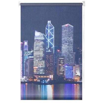 Штора рулонная Сити 120х175 см цвет серый цена
