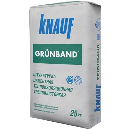 Штукатурка цементная теплоизоляционная Knauf Грюнбанд 25 кг