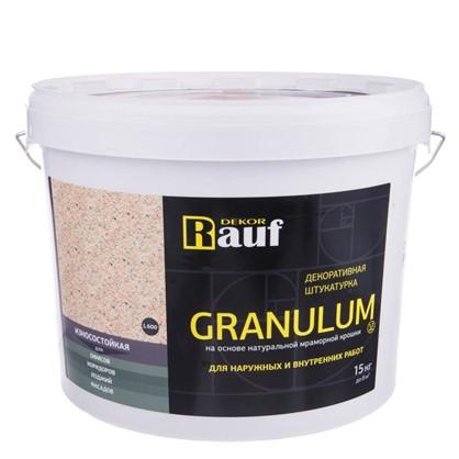 Штукатурка декоративная Granulum L600 15 кг
