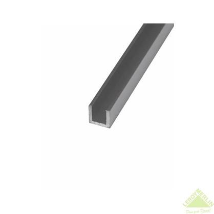 Швеллер алюминиевый 15х15х15х15 см 2 м цвет серебро