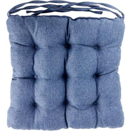 Сидушка Савана 40x36 см цвет синий цена