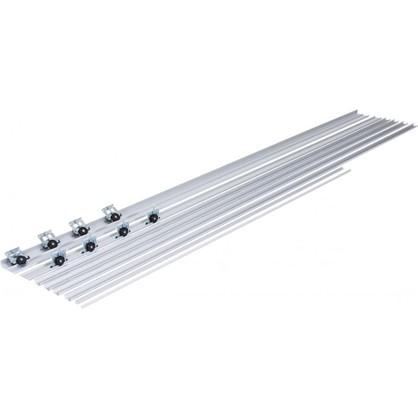 Система для раздвижных дверей Betta 1800 мм для 2 дверей цвет серебро цена
