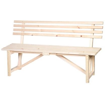 Скамейка со спинкой 1.5 м цена