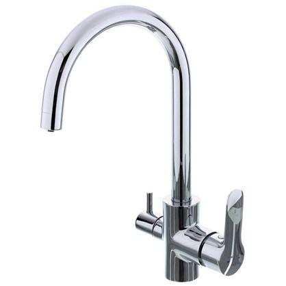 Смеситель для кухни Plus с перключателем на питьевую воду цена