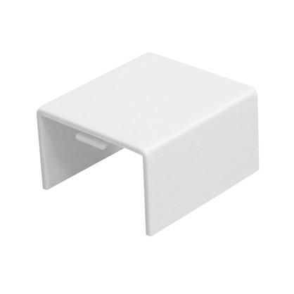 Соединение на стык 25/16 мм цвет белый 4 шт.