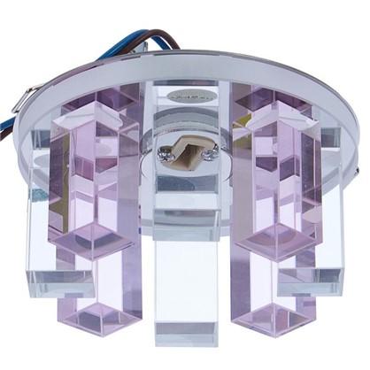 Спот встраиваемый Cryst круглый цоколь G9 40 Вт цвет розовый цена