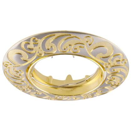 Спот встраиваемый Henna цоколь GU5.3 50 Вт цвет никель/золото цена