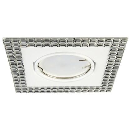 Спот встраиваемый Mirror цоколь GU5.3 50 Вт цвет белый/зеркальный цена