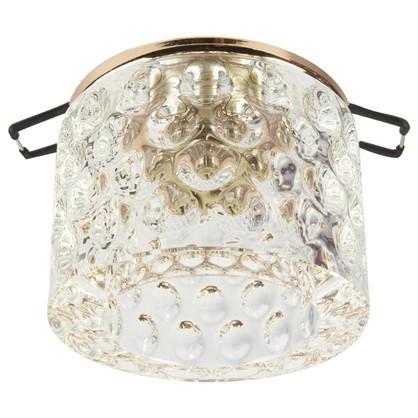 Спот встраиваемый Oval цоколь G9 40Вт цвет золото/прозрачный цена
