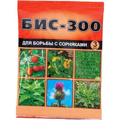 Средство для борьбы с сорняками на посадках земляники и газонах БИС-300 3 мл цена