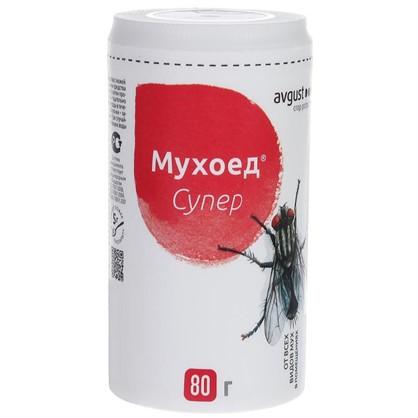 Средство от мух Мухоед супер в банке 80 г цена