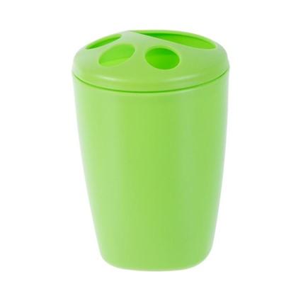 Стакан для зубных щеток настольный Беросси Aqua пластик цвета в ассортименте цена
