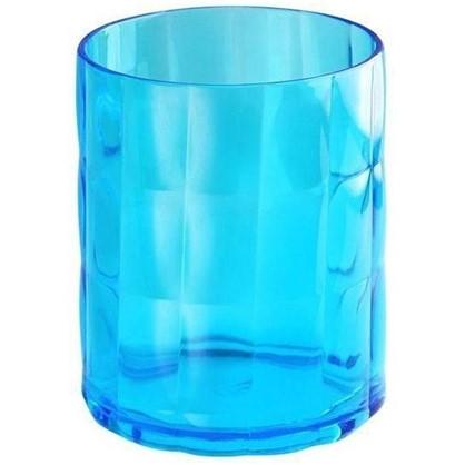 Стакан для зубных щеток настольный Verran Sole акрил цвет синий цена